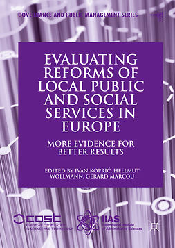 Koprić, Ivan - Evaluating Reforms of Local Public and Social Services in Europe, e-bok