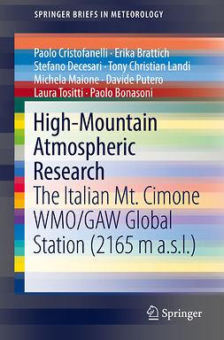 Bonasoni, Paolo - High-Mountain Atmospheric Research, ebook