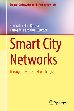 Pardalos, Panos M. - Smart City Networks, ebook