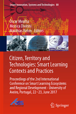Divitini, Monica - Citizen, Territory and Technologies: Smart Learning Contexts and Practices, ebook