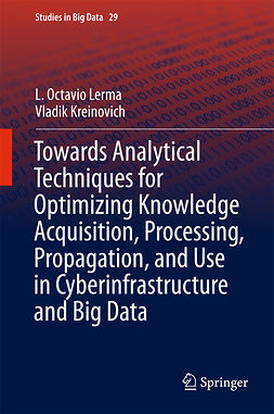 Kreinovich, Vladik - Towards Analytical Techniques for Optimizing Knowledge Acquisition, Processing, Propagation, and Use in Cyberinfrastructure and Big Data, e-kirja