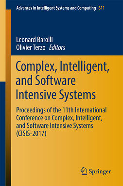 Barolli, Leonard - Complex, Intelligent, and Software Intensive Systems, e-bok