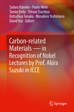 Endo, Tamio - Carbon-related Materials in Recognition of Nobel Lectures by Prof. Akira Suzuki in ICCE, ebook