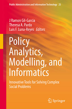 Gil-Garcia, J Ramon - Policy Analytics, Modelling, and Informatics, ebook