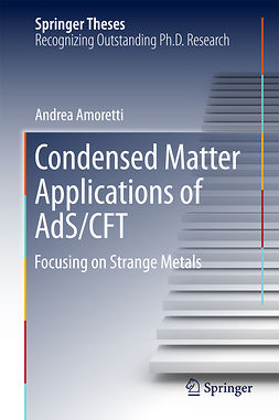 Amoretti, Andrea - Condensed Matter Applications of AdS/CFT, e-bok