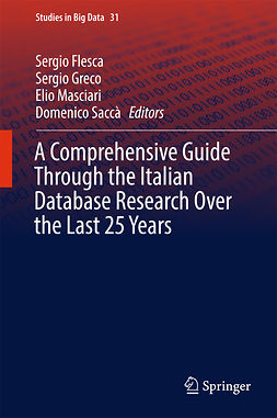 Flesca, Sergio - A Comprehensive Guide Through the Italian Database Research Over the Last 25 Years, e-kirja