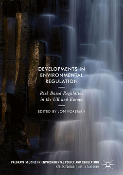 Foreman, Jon - Developments in Environmental Regulation, e-kirja