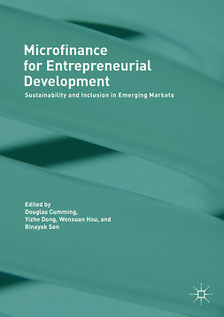 Cumming, Douglas - Microfinance for Entrepreneurial Development, ebook