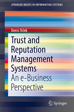 Trček, Denis - Trust and Reputation Management Systems, ebook