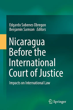 Obregon, Edgardo Sobenes - Nicaragua Before the International Court of Justice, e-kirja
