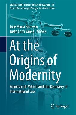 Beneyto, José María - At the Origins of  Modernity, e-kirja