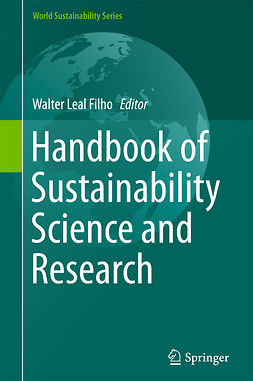 Filho, Walter Leal - Handbook of Sustainability Science and Research, e-kirja