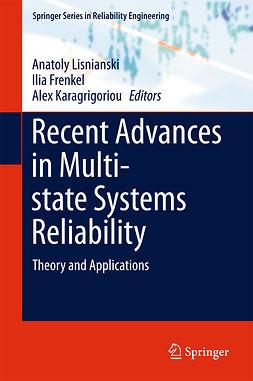 Frenkel, Ilia - Recent Advances in Multi-state Systems Reliability, e-bok