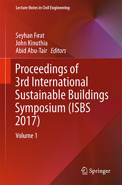 Abu-Tair, Abid - Proceedings of 3rd International Sustainable Buildings Symposium (ISBS 2017), e-kirja