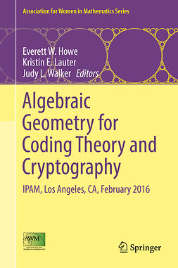 Howe, Everett W. - Algebraic Geometry for Coding Theory and Cryptography, ebook