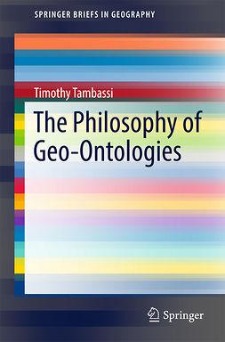 Tambassi, Timothy - The Philosophy of Geo-Ontologies, ebook