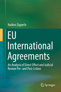 Zipperle, Nadine - EU International Agreements, ebook