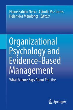 Mendonça, Helenides - Organizational Psychology and Evidence-Based Management, e-kirja