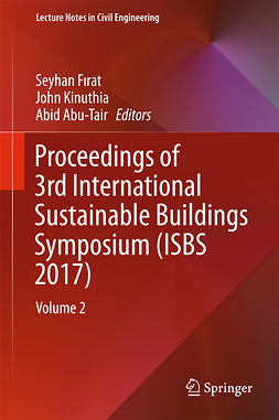 Abu-Tair, Abid - Proceedings of 3rd International Sustainable Buildings Symposium (ISBS 2017), ebook