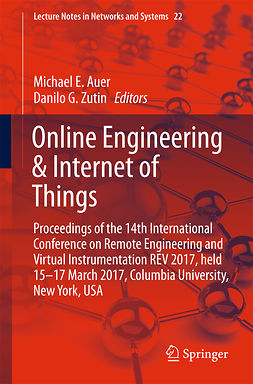 Auer, Michael E. - Online Engineering & Internet of Things, e-bok
