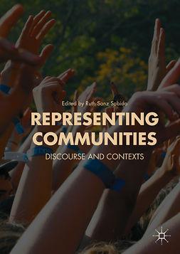 Sabido, Ruth Sanz - Representing Communities, e-kirja