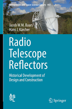 Baars, Jacob W.M. - Radio Telescope Reflectors, ebook
