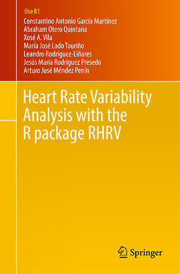 Martínez, Constantino Antonio García - Heart Rate Variability Analysis with the R package RHRV, ebook