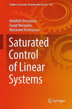 Benhayoun, Mohamed - Saturated Control of Linear Systems, e-kirja