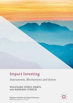 Scheck, Barbara - Impact Investing, ebook