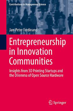 Ferdinand, Jan-Peter - Entrepreneurship in Innovation Communities, ebook