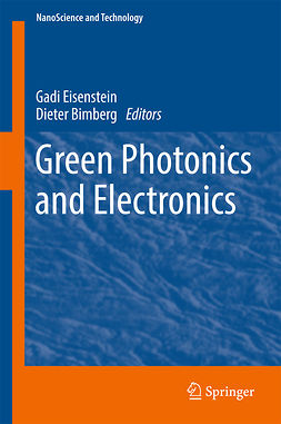 Bimberg, Dieter - Green Photonics and Electronics, ebook