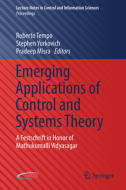 Misra, Pradeep - Emerging Applications of Control and Systems Theory, e-kirja