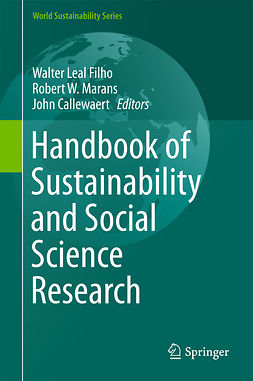 Callewaert, John - Handbook of Sustainability and Social Science Research, ebook