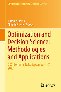 Sforza, Antonio - Optimization and Decision Science: Methodologies and Applications, e-bok