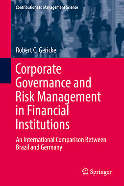 Gericke, Robert C. - Corporate Governance and Risk Management in Financial Institutions, ebook