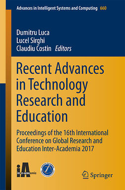 Costin, Claudiu - Recent Advances in Technology Research and Education, ebook
