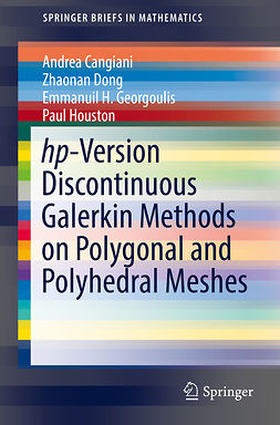 Cangiani, Andrea - hp-Version Discontinuous Galerkin Methods on Polygonal and Polyhedral Meshes, ebook