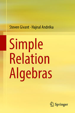 Andréka, Hajnal - Simple Relation Algebras, ebook