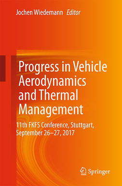 Wiedemann, Jochen - Progress in Vehicle Aerodynamics and Thermal Management, ebook
