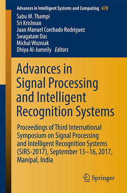 Al-Jumeily, Dhiya - Advances in Signal Processing and Intelligent Recognition Systems, ebook