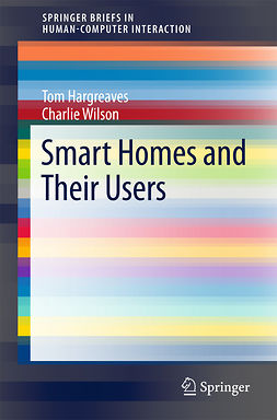 Hargreaves, Tom - Smart Homes and Their Users, ebook