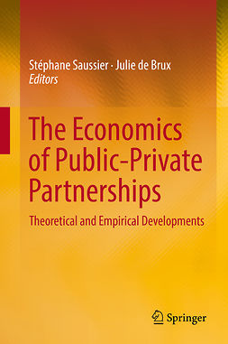 Brux, Julie de - The Economics of Public-Private Partnerships, ebook