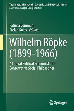 Commun, Patricia - Wilhelm Röpke (1899–1966), ebook