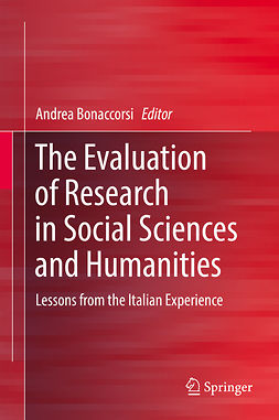 Bonaccorsi, Andrea - The Evaluation of Research in Social Sciences and Humanities, ebook