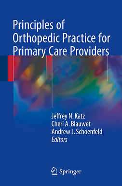Blauwet, Cheri A. - Principles of Orthopedic Practice for Primary Care Providers, ebook