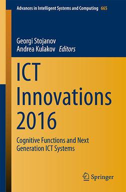 Kulakov, Andrea - ICT Innovations 2016, ebook