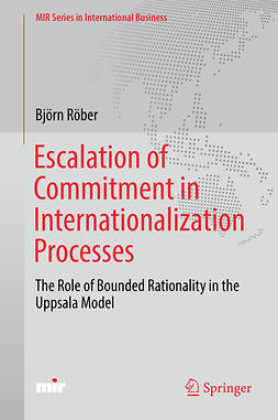 Röber, Björn - Escalation of Commitment in Internationalization Processes, ebook