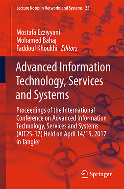 Bahaj, Mohamed - Advanced Information Technology, Services and Systems, e-bok