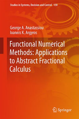 Anastassiou, George A. - Functional Numerical Methods: Applications to Abstract Fractional Calculus, e-kirja