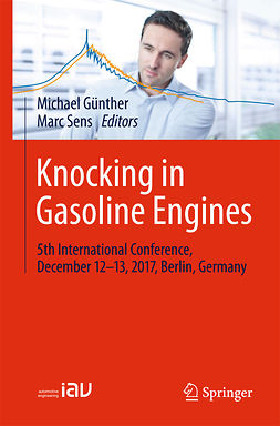 Günther, Michael - Knocking in Gasoline Engines, e-bok
